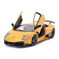Tipo di giocattolo: giocattolo di metalloSerie di auto: auto sportivaNome del modello: Lamborghini MurcielagoGenere applicabile: neutraleRapporto: 1:24Tipo di modello: prodotto finitoClassificazione dei colori: arancione, giallo, grigio argentoEtà ap...