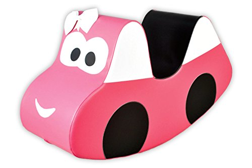 IGLU Brand Rocker For Kids, Rocking Horse, Soft Play Equipment, Activity Toys - PINK