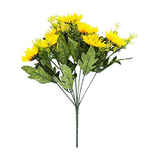 VWTTV Tulpe künstliche Blume Hochzeit Simulation Blume Pu Mini Tulpe gefälschte Blume Wohnzimmer Topfblume Anordnung Hochzeitsdekoration echte Braut Hochzeitsstrauß Hauptdekoration