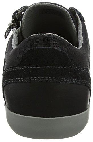 Geox Herren U Box C Sneaker Schwarz (nero)