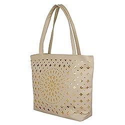 Glory Fashion Women's Stylish Handbag Beige BB-001-B00181