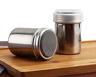 TPgoBuy Functional Stainless Steel Chocolate Shaker Icing Sugar Salt Cocoa Flour Coffee Sifter