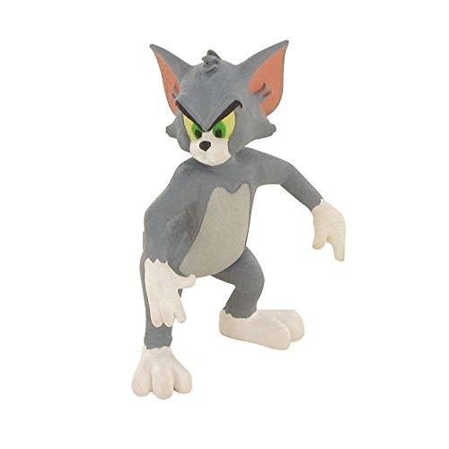 Comansi Y99653. Figura Pvc. Serie Tom y Jerry. Tom Enfadado. 7 cm