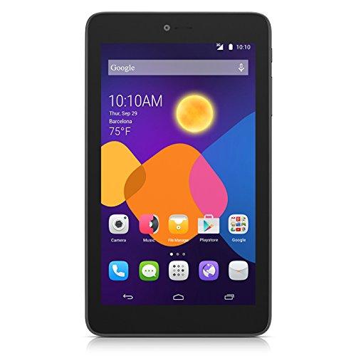 Alcatel PIXI 3 (7) 4GB Negro – Tablet (Minitableta, Android, Pizarra, Android 4.4, Negro, IEEE 802.11b, IEEE 802.11g, IEEE 802.11n)