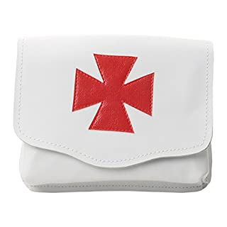 Knights Templar Real Leather Alms Bag