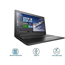 Lenovo IdeaPad 310-15ISK 80SM01EFIH 15.6-inch Laptop (Core I5-6200/4GB/1TB/Windows 10/2GB Graphics), Black