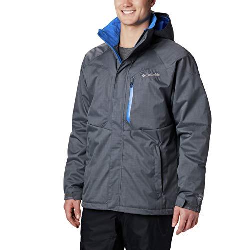 Columbia Jacke für Herren, Alpine Action, Polyester, grau (graphite, super blue), Gr. L -