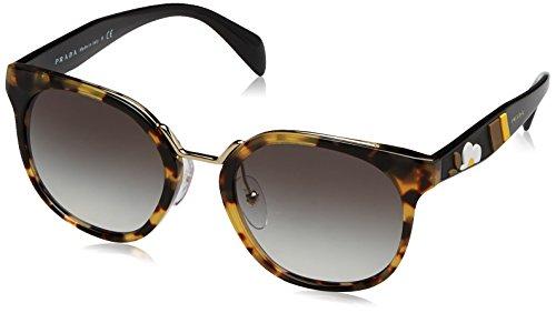 Prada Damen 0PR17TS 7S00A7 53 Sonnenbrille, Braun (Medium Havana/Grey),