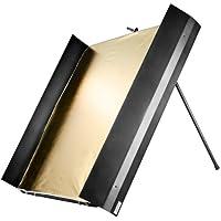 Walimex Pro - Panel reflector con puertas (1 x 1 m)