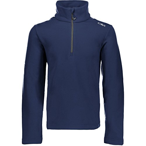 CMP BOY STRETCH PERFORMANCE FLEECE SWEA Größe 152 Blau (NAVY)