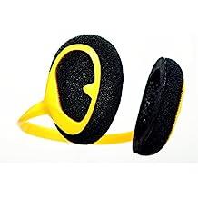Windfree Windgeräuschreduzierung Windschutz Ohren Höhrgerät Farbe Gelb