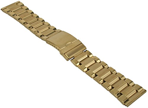 Metallband Robust Edelstahl Vergoldet Uhrenarmband 20-22-24-26-28mm Armband Uhr Band 26mm