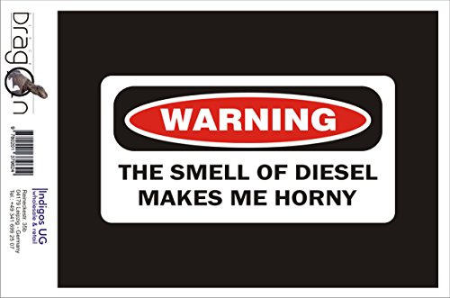 T-Shirt Herren - digital - Warning The Smell Of Diesel Hard Hat Schwarz