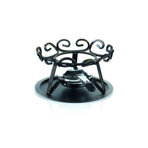 TABLE&COOK Table & Cook–3009208–18–Rechaud Fondue aus Schmiedeeisen 18cm