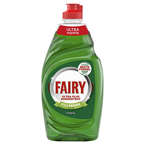 fairy ultra plus konzentrat Fairy Ultra Plus Konzentrat Original Hand-Geschirrspülmittel, 10er Pack (10 x 450 g)