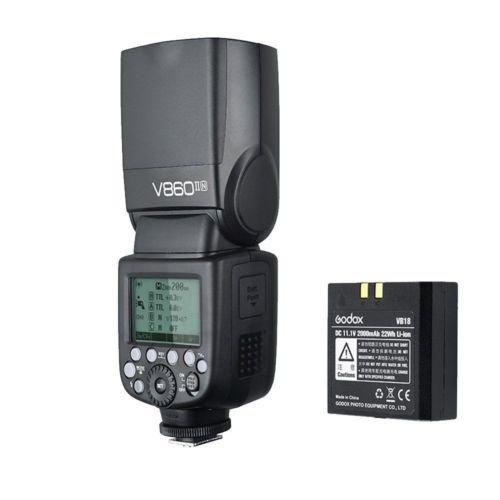 Godox V860II-N Kit i-TTL Wireless 2.4G Speedlite Flash for Nikon D800 D7100 D7000