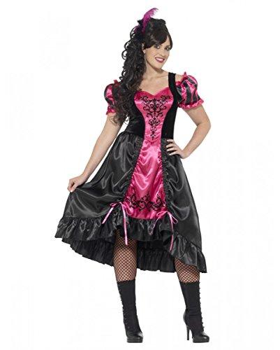 Horror-Shop Sassy Plus Size Burlesque Kleid | XL-XXXL -