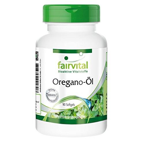 Oregano-Öl 1500mg - Origanum vulgare Extrakt - 90 Softgels - Mediterrane Würze für die Gesundheit