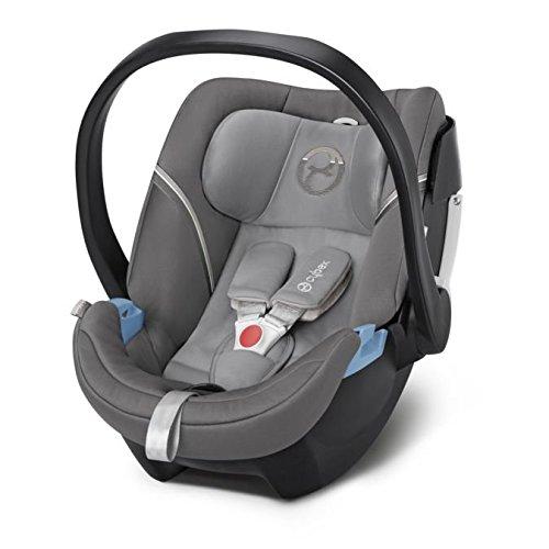 Preisvergleich Produktbild Cybex Aton 5 Kindersitz Manhattan grau