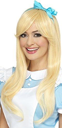 blond Profi-Qualität Alice Märchen hitzebeständig Styleable mit Stirnband Kostüm Kleid Outfit Perücke (Profi Qualität Kostüm Perücken)