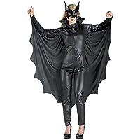 Disfraces Chiber - Disfraz de Mujer Murcielago con alas