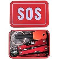 TOOGOO Camping Wandern Multifunktionswerkzeuge und Ausruestung Set Notfall-Box Notfall liefert SOS im Freien Selbst... preisvergleich bei billige-tabletten.eu