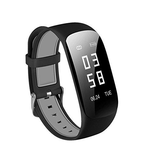 bc4e87af23a824 Montre Connectée Z17 Bracelet Sport Fitness Tracker d activité Intelligent  Bluetooth 4.0, Étanche IP68,avec GPS,Cardiofréquencemètre,Sommeil,Podomètre  ...