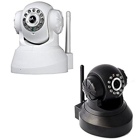 Area Caméra de surveillance motorisée sans fil à infrarouges 10 LED LAN