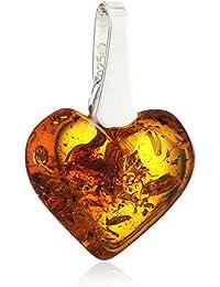 InCollections 0604400050570 - Pendente da donna con ambra, argento sterling 925