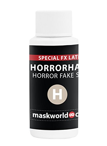 Horrorhaut - Halloween Make Up Spezialeffekt Latexmilch Fake Skin Schminke (Latex Halloween-make-up)