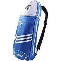 Sac Étanche pour raquette de badminton raquette de Sport Sac à dos en bandoulière–Bleu