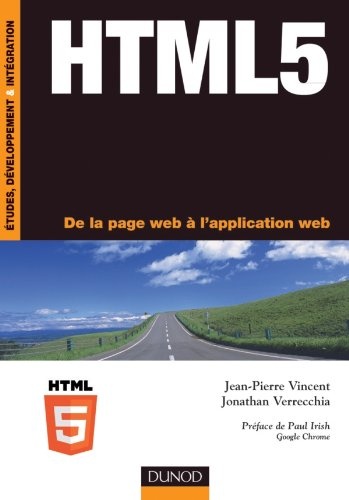 HTML5 - De la page web à l'application web