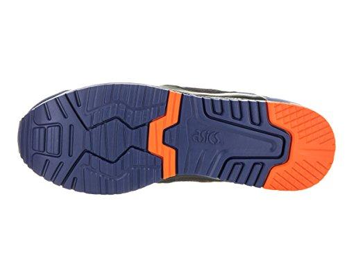 Asics Mens Gel-Lyte III Retro Sneaker Blue Print/Orange