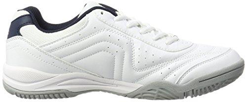 Lotto Sport Court Logo Xv, Chaussures de Tennis Homme Blanc (Wht/blu Avi)