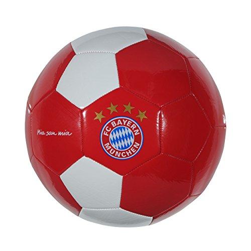 Preisvergleich Produktbild FC Bayern München Mia San Mia Ball (red / white,  5)