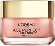 Eye Cream, L'Oreal Paris Rosy Tone Anti-Aging Eye Cream Moisturizer to Treat Dark Circles and Under Eye, V