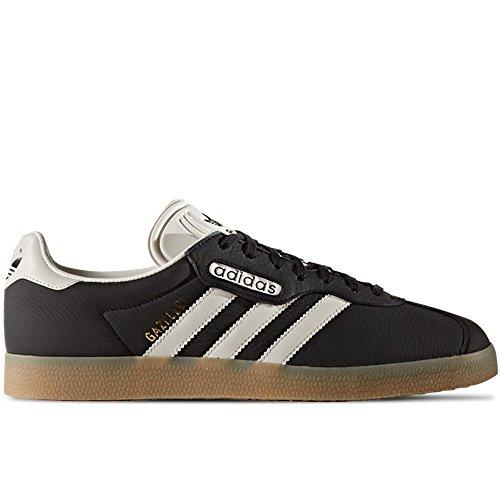 Adidas Herren Gazelle Super Sneaker Core Nero-vintage White-gum (bb5244)