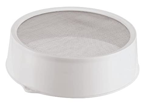 Paderno World Cuisine 10-Inch Plastic Icing Sugar Sieve by Paderno World Cuisine
