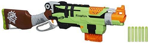 Hasbro Nerf A6563EU4 - Zombie Strike Slingfire, Spielzeugblaster