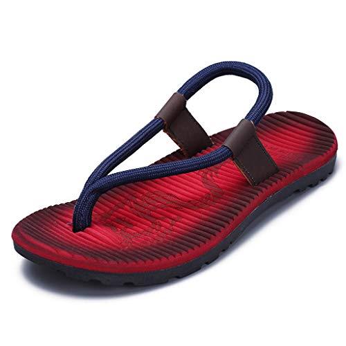 KERULA Marke Men's MäNner Herren Fashion Casual Flat Outdoor Skid Surfen Zehentrenner Sports Shoes Pool Pantoffeln Flip Flops Strandschuhe Flippers Hausschuhe Slippers Sandalen Beach ()