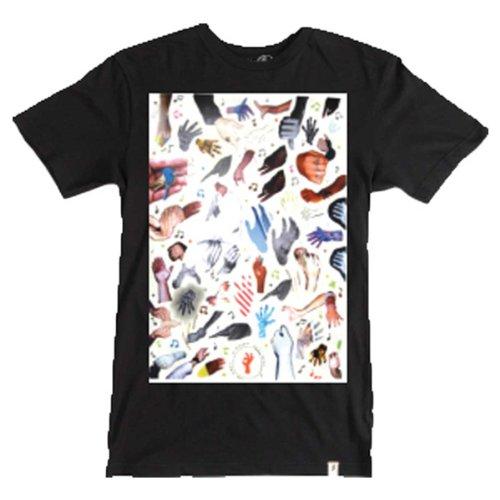 ALTAMONT T-Shirt LEACH Black