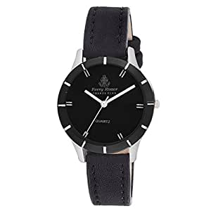 Ferry Rozer Black Dial Analog Watch For Women