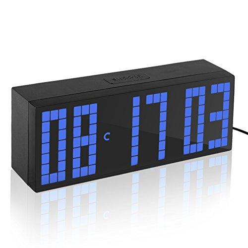 Yosoo Alarma Big Time Relojes LED Digital / Cuenta