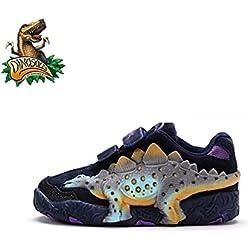 Dinosoles 3D Dinosaurus Stego Shoe (Children/Toddler/Little kid)