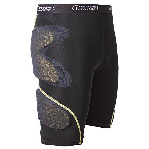 Forcefield Contakt Shorts Protektorenhose, Farbe schwarz, Größe XL