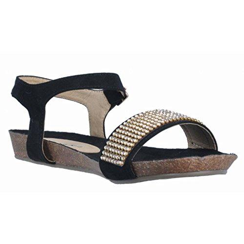 Sandali e infradito per le donne, colore Nero , marca TIZIANA, modello Sandali E Infradito Per Le Donne TIZIANA PETRA Nero Nero