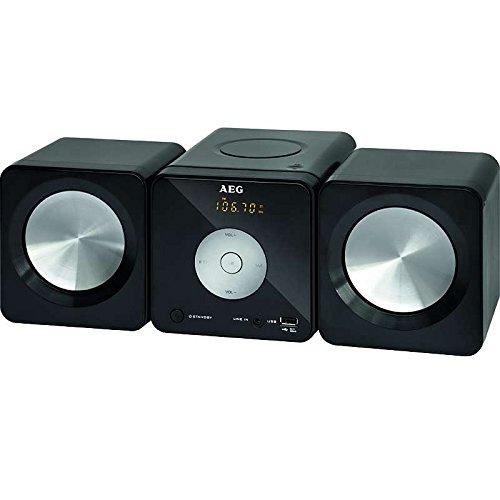 :Stereo-Anlage Musik Center mit  CD Player, MP3 kompatibel, USB Port, Musik Anlage mit Fernbedienung