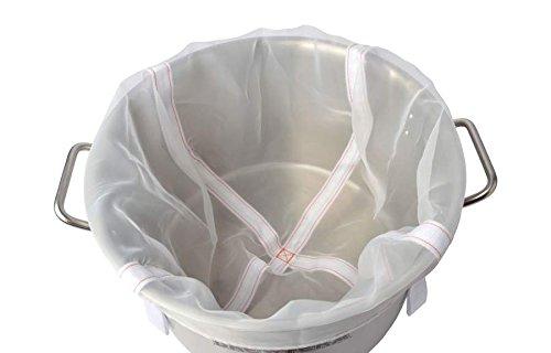 The Brew Bag - 50 l - Maischesack zum Bierbrauen nach der BIAB Methode - für 50 Liter Kessel Heimbrauen Hobbybrauerei