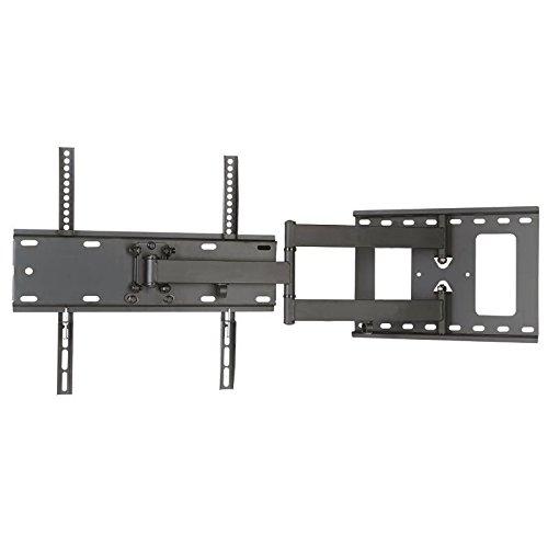 Supporto da parete a un braccio per display e TV estraibile a 50cm, orientabile, inclinabile di 12°, per LG 32