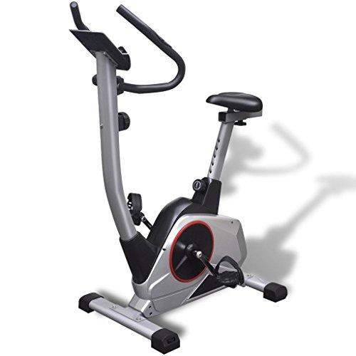 Magnetische Heimtrainer (Festnight Heimtrainer Fahrradtrainer Fahrradtrainer Ergometer Magnet-Schwungmasse 10 kg Pulsmessung)